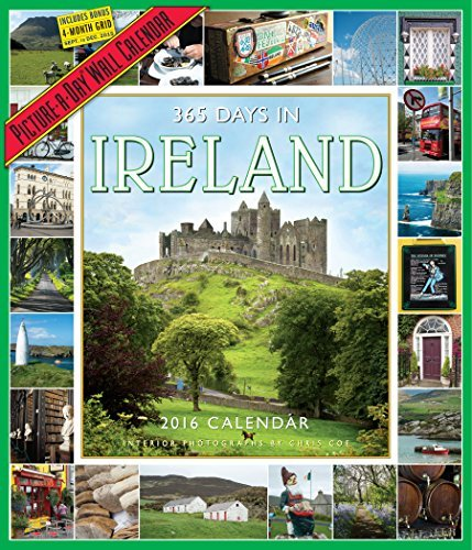 365 Days in Ireland Picture-A-Day Wall Calendar 2016