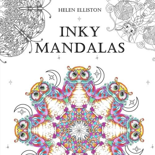 Inky Mandalas: Themed Mandalas for relaxation (Inky Colouring books) (Volume 3)