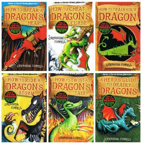 Cressida Cowell: Hiccup (How to Train Your Dragon) - 6 books collection pack