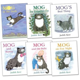 Mog the Cat Pack, 6 books, RRP £35.94 (Mog And Bunny; Mog And The Baby; Mog On Fox Night; Mog in the Dark; Mog the Forgetful Cat; Mog's Bad Thing).