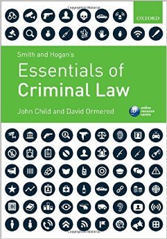 Smith and Hogan's Essentials of Criminal Law