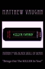 Mother F'ing Black Skull of Death by Matthew Vaughn