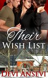 Their Wish List: Christmas erotic menage romance