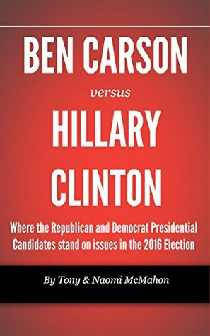 Ben Carson versus Hillary clinton: Where the Republican and Democrat Presidential Candidates stand on issues in the 2016 Election (2016 Presidential Race Compare Candidates)