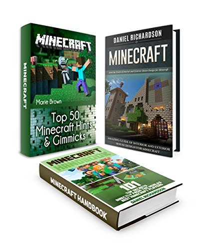 Minecraft Box Set: Over 150 Best Minecraft Tips From the World's Best Minecraft Players plus Amazing Guide for Minecraft House Designs