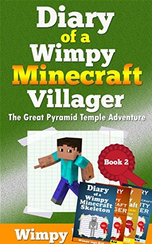 Minecraft books for kids: Zombie | Diary Of a Wimpy Minecraft Villager,The Great Pyramid Temple Adventure (an unofficial minecraft book) +4 FREE BONUS BOOKS INSIDE!!