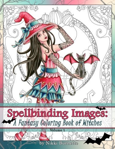 Spellbinding Images: A Fantasy Coloring Book of Witches