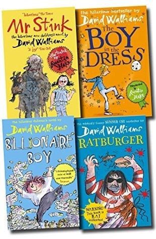 David Walliams: Mr Stink / Billionaire Boy / The Boy in the Dress / Ratburger (4 Volumes)