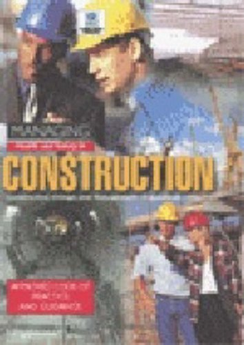 Managing Construction for Health and Safety (Guidance booklet)