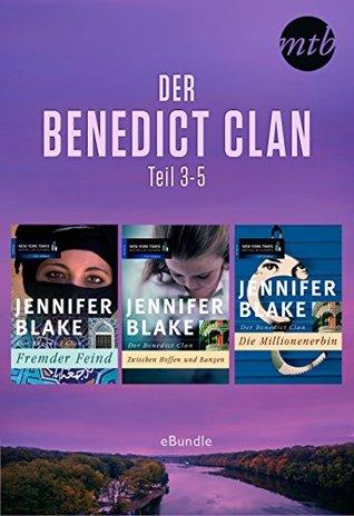Der Benedict Clan - Teil 3-5: eBundle