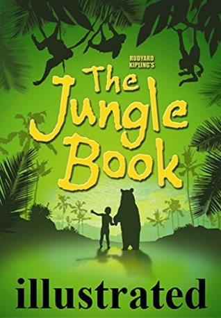 The Jungle Book by Rudyard Kipling - illustrated.