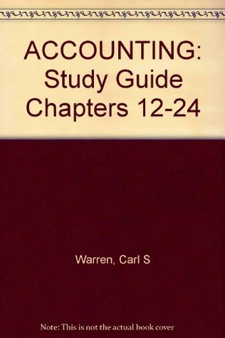 Study Guide Chpts 12-24 Accounting