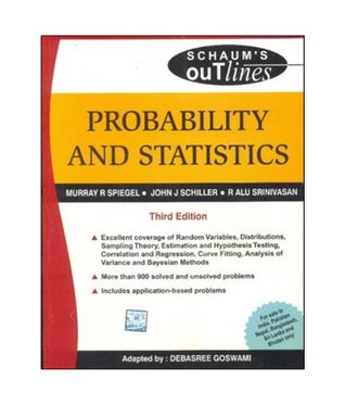 Probability and Statistics (Schaum's Outline Series)
