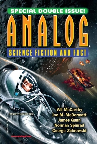 Analog Science Fiction and Fact, January-February 2016