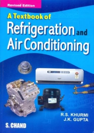 Textbook Of Refrigeration And Air Conditioning By R S Khurmi