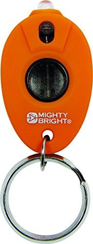 Keychain Light, Blister Pack Rubberized: Orange