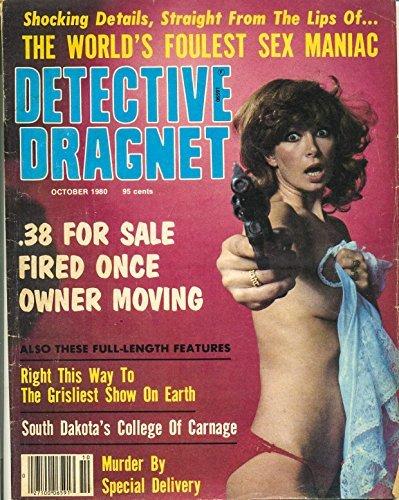 Detective Dragnet October 1980 (true crime magazine Book 52)