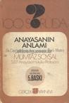 100 Soruda Anayasa'nın  Anlamı by Mümtaz Soysal