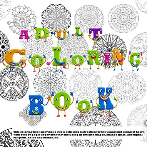 Coloring Book For Adults (Adult Coloring Books 1)