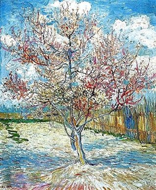 "Counted Cross Stitch Pattern: ""Peach Trees In Blossom"" by Vincent Van Gogh (The Great Artists Series)"