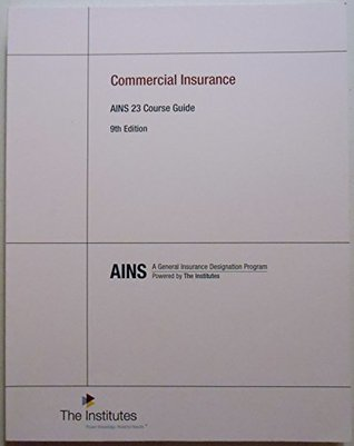 AINS 23 Course Guide 9th Edition Commercial Insurance