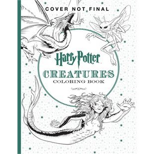 Harry Potter The Official Coloring Book 2 Creatures