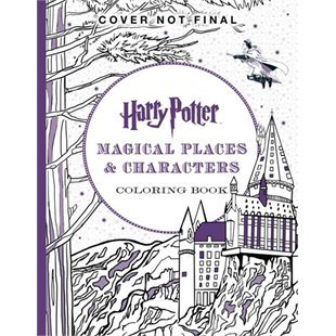 Harry Potter Colouring Book 3 Magical Places Characters