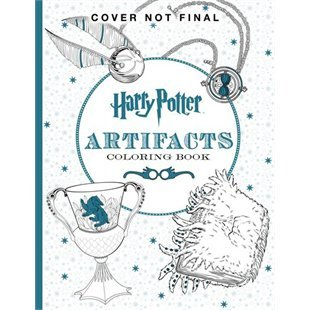 Harry Potter Colouring Book 4 Artifacts