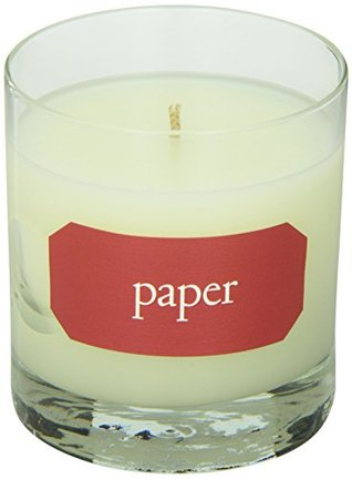 Paper Library Candle