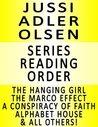 Jussi Adler Olsen Series Reading Order