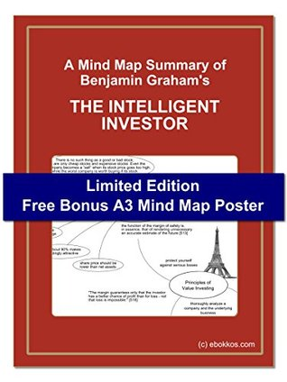 "A Mind Map Summary of Benjamin Graham's ""THE INTELLIGENT INVESTOR"": Limited Edition - Free Bonus A3 Mind Map Poster"