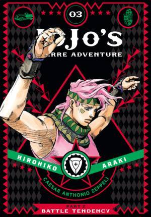 JoJo's Bizarre Adventure: Part 2—Battle Tendency, Vol. 3