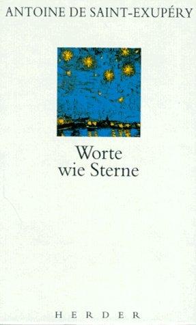 Worte wie Sterne