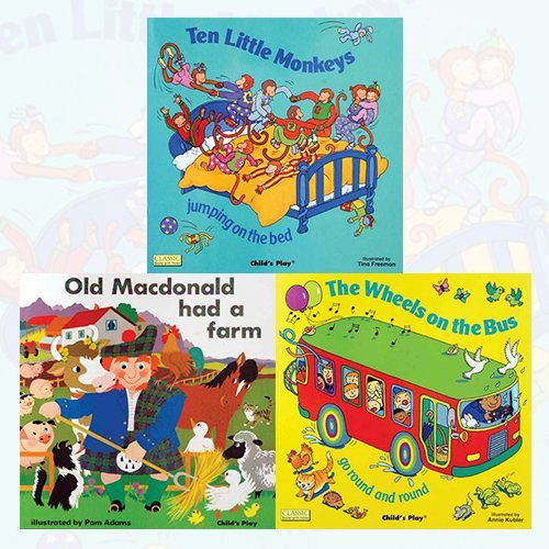 Classic Books with Holes Board Book 3 Books Bundle Collection