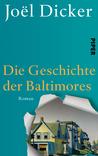 Die Geschichte der Baltimores by Joël Dicker