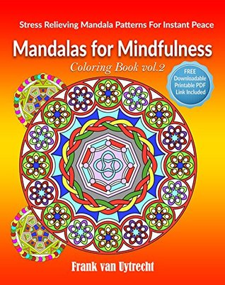 Adult Coloring Book Mandalas For Mindfulness