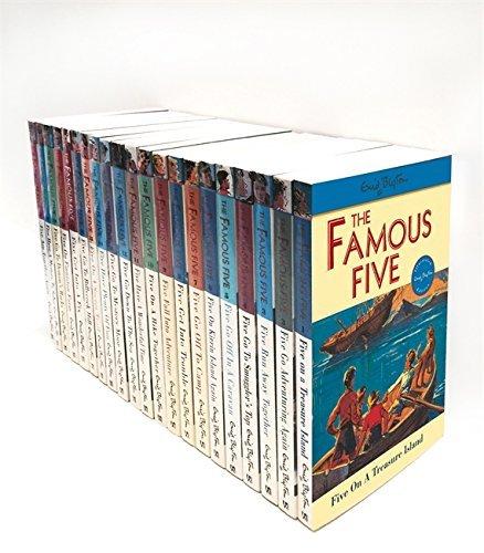 Enid Blyton Famous Five Series, 21 Books Box Collection Pack Set (Famous Five Series)