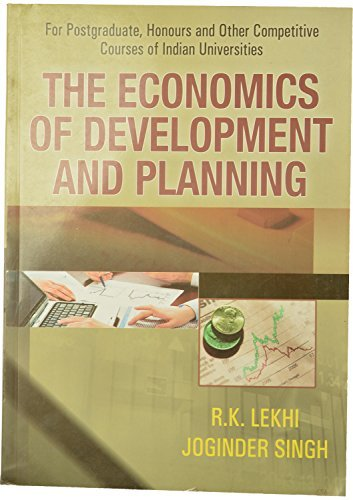 The Economics of Development and Planning