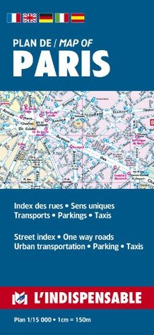 Plans De Paris: Paris Street Index and Maps
