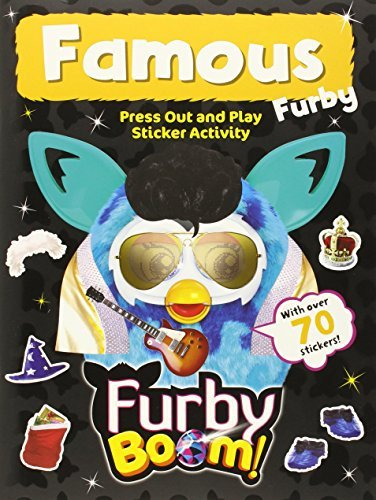 Furby Boom Famous Press Out & Play