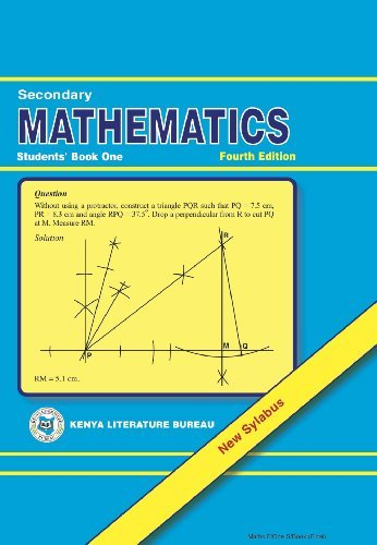 KLB Mathematics: SHS; Form 1