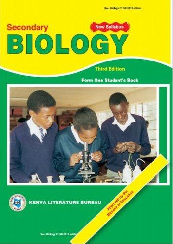 KLB Biology: SHS; Form 1