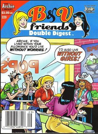 Betty Veronica Friends Double Digest 229 By Archie Comics