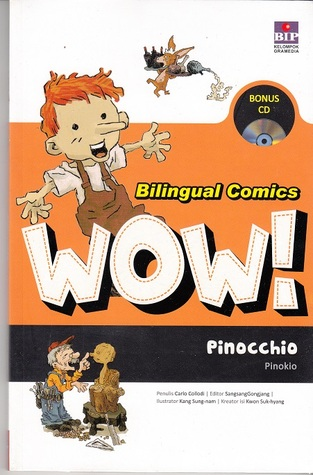 Bilingual Comics Wow ! 1 0: Pinocchio