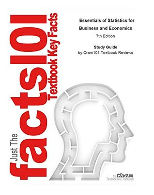e-Study Guide for: Essentials of Statistics for Business and Economics: Business, Management