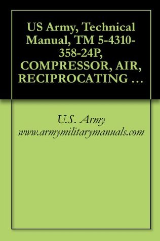 US Army, Technical Manual, TM 5-4310-358-24P, COMPRESSOR, AIR, RECIPROCATING ELECTRICAL MOTOR DRIVEN, RECEIVER MTD, 5 CFM AT 175 PSI, (CHAMPI PNEUMATIC ... military manauals, special forces