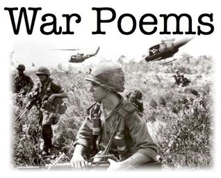 War Poems | Poems of The War | Book of Poetry | Poems