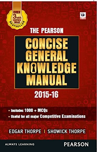 The Pearson Concise General Knowledge Manual 2016