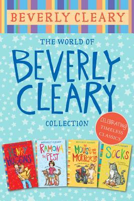 The World of Beverly Cleary Collection: Henry Huggins, Ramona the Pest, The Mouse and the Motorcycle, Socks