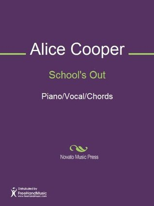 School's Out Sheet Music (Piano/Vocal/Chords)
